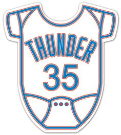 Oklahoma City Thunder Onesie Baby Shower Invitations