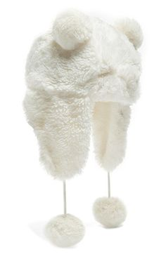Tucker + Tate 'Bear' Faux Fur Trapper Hat (Girls) available at #Nordstrom