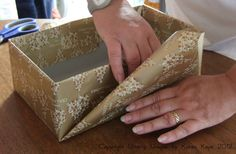 Utterly Unique by Karen Kaye: Christmas Gift Wrapping Tips & Ideas: How to wrap a shoebox