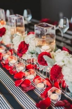 marsala wedding ideas table inspiration
