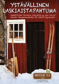 RUUSUKORUT: Ystävällinen laskiaistapahtuma Knehtilän luomutila...