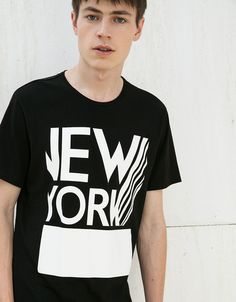 Discover the lastest trends in T-shirts with Bershka. Log in now and find 103 T-shirts and new products every week