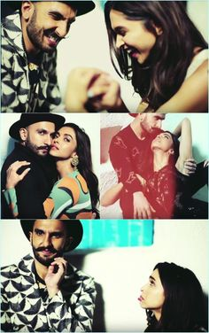 Deepika Padukone and Ranveer Singh shooting for Vogue
