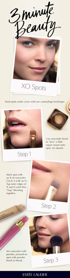 Our quick tip for concealing blemishes #3MinuteBeauty