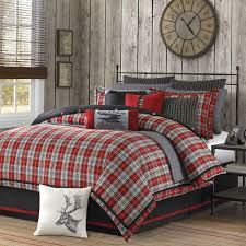 Roots Canada Bedding is perfect for a Log Home!