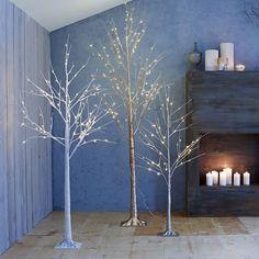 LED Trees   west elm
