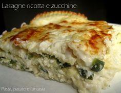 Le lasagne ricotta e zucchine sono una perfetta alternativa vegetariana alle classiche lasagne di carnevale. Personalmente amo più i sughi bianchi quindi..