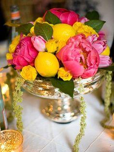 fruit & flower | http://flowerarrangementideas.blogspot.com
