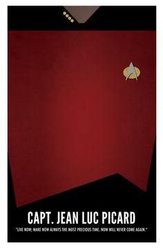 Jean-Luc Picard (Star Trek TNG Small Poster) by marekmaurizio.deviantart.com on @deviantART