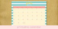 Printable June 2014 Calendar