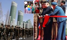 Kim Jong-un unveils luxury high-rise - with no hot water