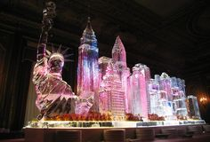Okamoto Studio - Premier Ice Sculpture Carving Studio; New York, Hamptons