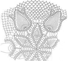 Knitted napkins and small things for home Crochet Doily Diagram, Crochet Pillow Pattern, Crochet Motif, Crochet Shawl, Crochet Dollies, Crochet Art, Crochet Flowers, Doily Patterns, Crochet Doilies