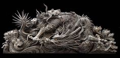 龍 彫刻 Sculpture  Japanese Garde