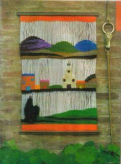 Weaving Textiles, Weaving Art, Loom Weaving, Textiles Techniques, Weaving Techniques, Tapestry Loom, Loom Craft, Creative Textiles, Art Textile