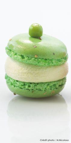 Lenôtre - Macaron glacé aux petits pois
