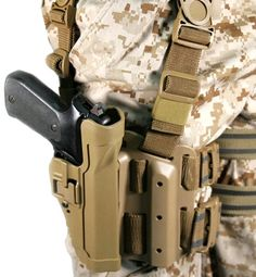 Army Adopts G-Code, SERPA Models as New Holsters