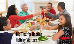 Tips for Graciously Hosting Holiday Visitors | SocialMoms Network - Where Influential Women Connect