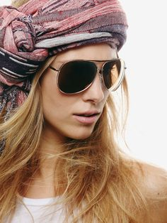 Free People Freeze Aviator Sunglasses from Free People. Saved to My Accessories. Free Clothes, Clothes For Women, Boho Fashion, Fashion Beauty, Free People Clothing, Summer Lookbook, Hippie Chic, Hippie Style, All About Fashion