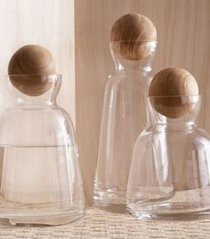 Roost Copenhagen Carafes // Pretty storage for your favorite libations.