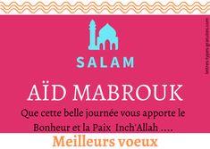 Beaux messages pour souhaiter une bonne fete de l'aid en français arbe ou kabyle et belle carte pour l'aid Adha et souhaiter aid mabrouk pour l'Eid El Fitr. Aid Adha, Aid El Fitr, Message Aid, Eid Moubarak, Eid Adha Mubarak, Messages, Ramadan, Religion, Content