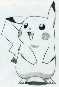 Easy pencil drawings easy drawing ideas step by step Easy Pencil Drawings, Cool Art Drawings, Disney Drawings, Animal Drawings, Easy Cartoon Drawings, Easy Pics To Draw, Drawings Of Pokemon, Easy But Cool Drawings, Pencil Sketches Simple