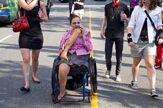 Zombie amputee eating her own leg - The Best Wheelchair Cosplay
