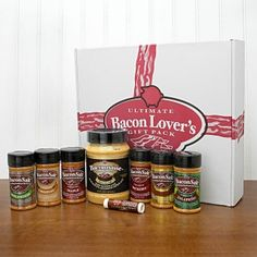 Achin For Some Bacon Gift Box, from HomeWetBar.com What guy doesn't enjoy bacon? This funny gift is sure to be a favorite.
