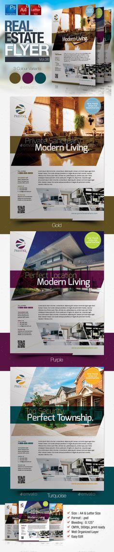 Simple Real Estate Flyer Vol.06