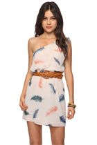 it's a light as a feather dress at Forever 21