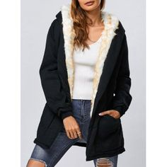 SHARE & Get it FREE | Double Pocket Hooded Parka JacketFor Fashion Lovers only:80,000+ Items·FREE SHIPPING Join Dresslily: Get YOUR $50 NOW!