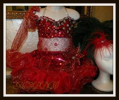 Pageant Dress Examples - Touch Of Skye By Mara Skye Pageant Diva Wear
