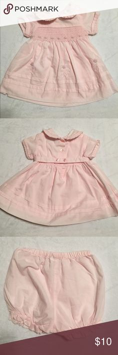 3-6 months baby girl dress 3-6 months girl dress. Super cute. Great spring/summer dress. Great for all special occasions.  Other