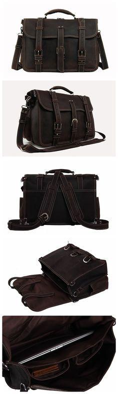 Super Large Multi-Use Leather Travel Bag, Duffle Bag, Leather Backpack, Men's Backpack, Men's Fashion Leather Bag