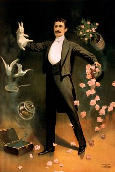 Edwardian Evening Formal: White Tie.     At first glance, this is what many folks will mistake you for in cloak and top hat: The Stage Magician.    But this is the basic ensemble for attending any evening event in mixed company.