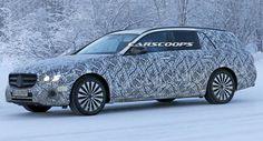Mercedes-Benz E-Class Estate Due To Launch This Summer #Mercedes #Mercedes_E_Class