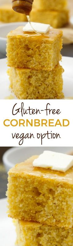This easy and delicious gluten-free cornbread is sweet, soft, and can also be made as muffins! With a dairy-free and vegan option. Don't need it to be gluten-free? It also works great with all-purpose and whole wheat flours. With a how-to recipe video.