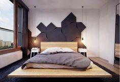 Wnętrza, Panele ścienne 3D Fluffo - Panele ścienne 3D Fluffo to miękkie panele wykonane z elastycznej, gęstej pianki poliuretanowej. Sprawiają, że ściana staję się cieplejsza...