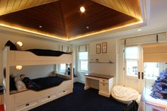 Newport Beach Residence - Interior Lighting Design Kids Bedroom