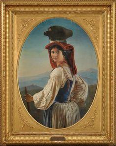 Elisabeth Anna-Maria Jerichau-Baumann (1819-1881) - un artista danese e scrittore con radici polacche PortretnoZhanrovoe ... .. discussione su LiveInternet - Servizio russo diari online