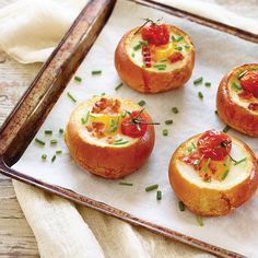 Bacon, Egg and Tre Stelle® Bocconcini Breakfast Bowls