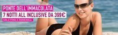 Solo fino a Domenica: Ponte dell'Immacolata al mare, 7 Notti All Inclusive da 399€! Scegliete qui la vostra destinazione it.lastminute.com