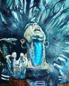 halahal poison the drinking Shiva Nila career -Blue Neck Shiva Parvati Images, Mahakal Shiva, Angry Lord Shiva, Shiva Tattoo Design, Rudra Shiva, Lord Shiva Hd Images, Lord Shiva Hd Wallpaper, Lord Shiva Painting, Lord Mahadev