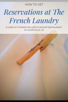 How do you get a reservation at The French Laundry? Well it takes a lot of luck and tenacity if you don't have the right credit card :). I got there on luck and want to share the 4 hour experience with everyone so you can recreate it for yourselves! Happy Dining! #thefrenchlaundry #frenchlaundry #thomaskeller #restaurantscalifornia French Laundry Restaurant, Travel Expert, Travel Tips, Drinking Every Day, The French Laundry, Thomas Keller, All Restaurants, Japanese American, Dessert