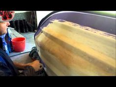 (1) How to fiberglass a boat hull Irwintech - YouTube