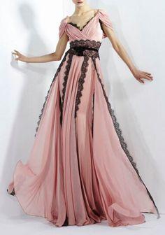 blush gown / zuhair murad