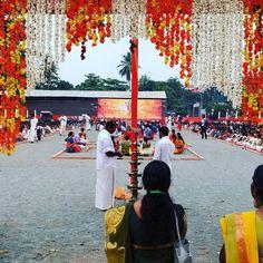 #ceremonia #hindú en #cochi #kerala #india