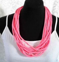 All Season  Hot Pink Neck Wrap Neck Wrap, Handmade Flowers, Women's Accessories, Hot Pink, Crochet Necklace, Bracelets, Jewelry, Fashion, Moda