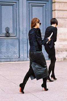 Paris Fashion Week AW 2013....Christine