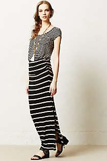 Anthropologie - Stripescope Maxi Dress